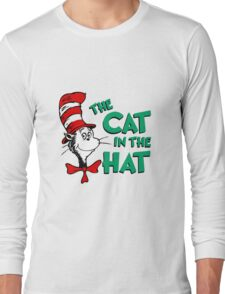 The Cat In The Hat Dr Seuss Long Sleeve T-Shirt