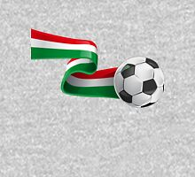 Abstract 3d Italy flag football ribbon tails Unisex T-Shirt
