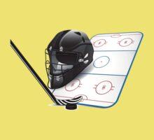 Ice hockey sports equipment Kids Tee