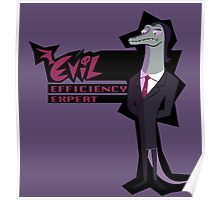 Evil Efficiency Expert Poster