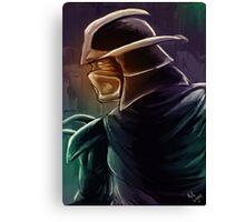 Shredder Foot Clan Grandmaster Canvas Print