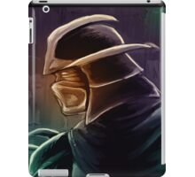 Shredder Foot Clan Grandmaster iPad Case/Skin
