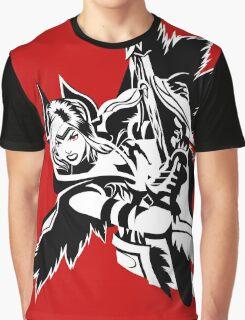 LoL - Quinn Black & White Graphic T-Shirt