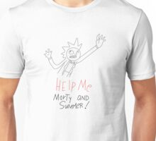 Help Me Morty and Summer! - Rick and Morty Unisex T-Shirt