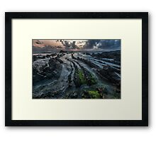 Barrika sunset Framed Print