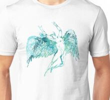 ICARUS THROWS THE HORNS - WATERCOLOR Unisex T-Shirt