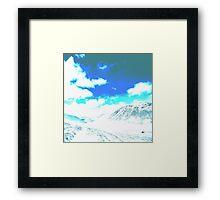Mountain Sky Framed Print