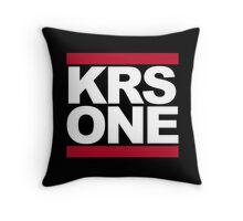 KRS ONE  - DMC Throw Pillow