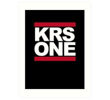 KRS ONE  - DMC Art Print