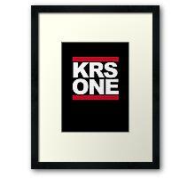 KRS ONE  - DMC Framed Print