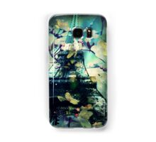 Paris in Spring, Green Samsung Galaxy Case/Skin