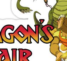 Dragons Lair - Dark Outline Sticker