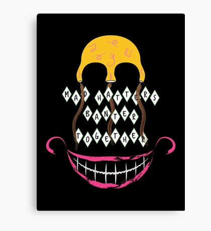 Mad Hatters Canvas Print