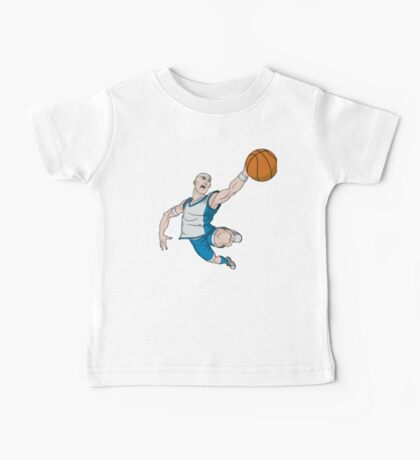 Basketball player pose Baby Tee