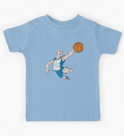 Basketball player pose Kids Tee