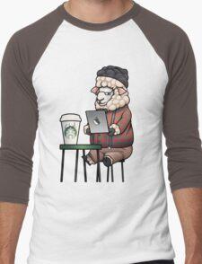 Sheepster Men's Baseball ¾ T-Shirt