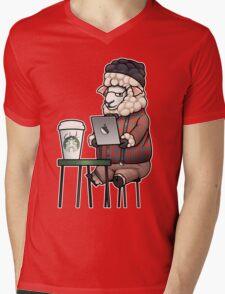 Sheepster Mens V-Neck T-Shirt