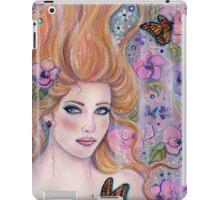 Wonderland fantasy portrait by Renee Lavoie iPad Case/Skin