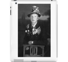 Austrian Teenage Boy Fighting Against Communism circa 1938 iPad Case/Skin