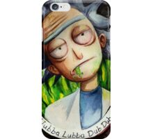 Rick (without Morty) Watercolor iPhone Case/Skin