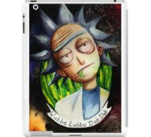 Rick (without Morty) Watercolor iPad Case/Skin