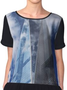 The Freedom tower Women's Chiffon Top