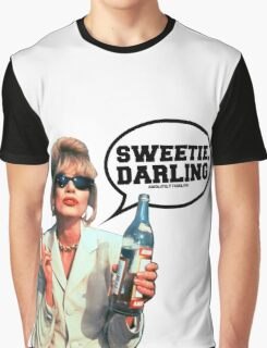"""Absolutely Fabulous - """"Sweetie, Darling"""" Patsy. Graphic T-Shirt"""