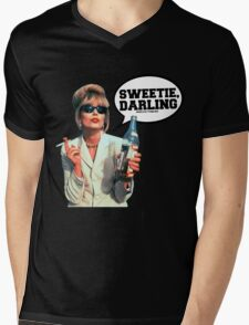 "Absolutely Fabulous - ""Sweetie, Darling"" Patsy. Mens V-Neck T-Shirt"