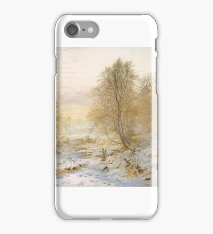 Andrew Maccallum 'Silvery Moments, Burnham Beeches',  iPhone Case/Skin