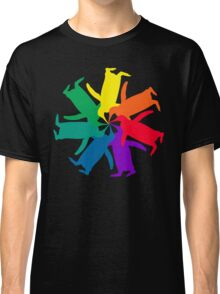 Penguin Color Wheel Classic T-Shirt