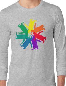 Penguin Color Wheel Long Sleeve T-Shirt