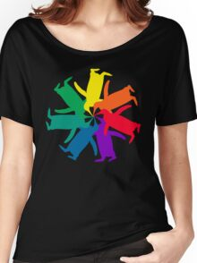 Penguin Color Wheel Women's Relaxed Fit T-Shirt