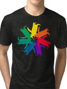 Penguin Color Wheel Tri-blend T-Shirt