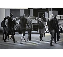 Rush time, 2012, 120-80cm, oil on canvas Photographic Print