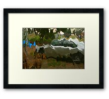 .. And Now For Something Completely Different Framed Print