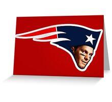 Tom Brady - Patriot Greeting Card