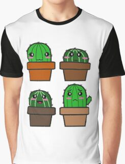 Cactus Graphic T-Shirt