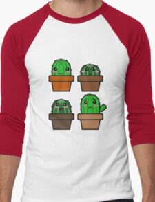 Cactus Men's Baseball ¾ T-Shirt