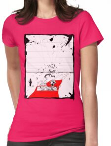 Fear and Loathing in Muppet Vegas Womens Fitted T-Shirt
