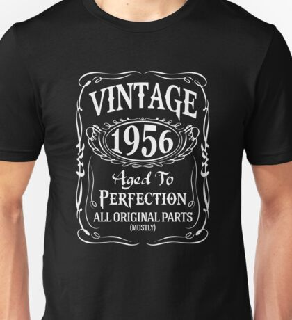1956 - Aged To Perfection Unisex T-Shirt