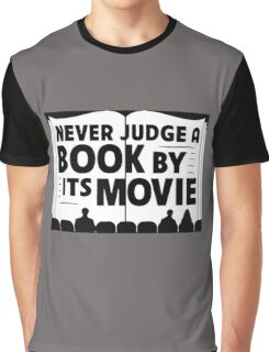 Never Judge A Book By Its Movie Graphic T-Shirt