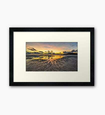Morning Colours Framed Print