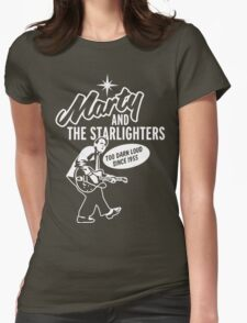 Marty and the Starlighters Womens Fitted T-Shirt