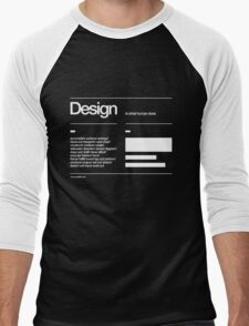 Design Men's Baseball ¾ T-Shirt
