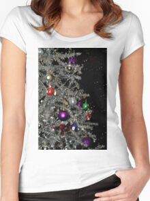 Have a Sparkling Christmas Women's Fitted Scoop T-Shirt