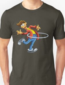 Cartoon boy playing with ring T-Shirt
