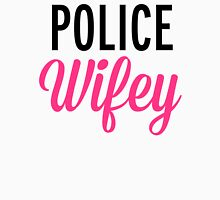 Police Wifey Quote Womens Fitted T-Shirt