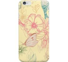 Flowers and animals iPhone Case/Skin