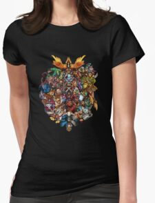 The Heroes - DOTA 2 Womens Fitted T-Shirt
