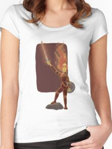 Phoebe the Flame King Women's Fitted Scoop T-Shirt